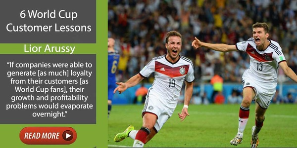 6 World Cup Lessons Applicable to Every Customer Relationship