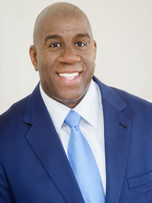 Magic Johnson, Executive Speakers Bureau