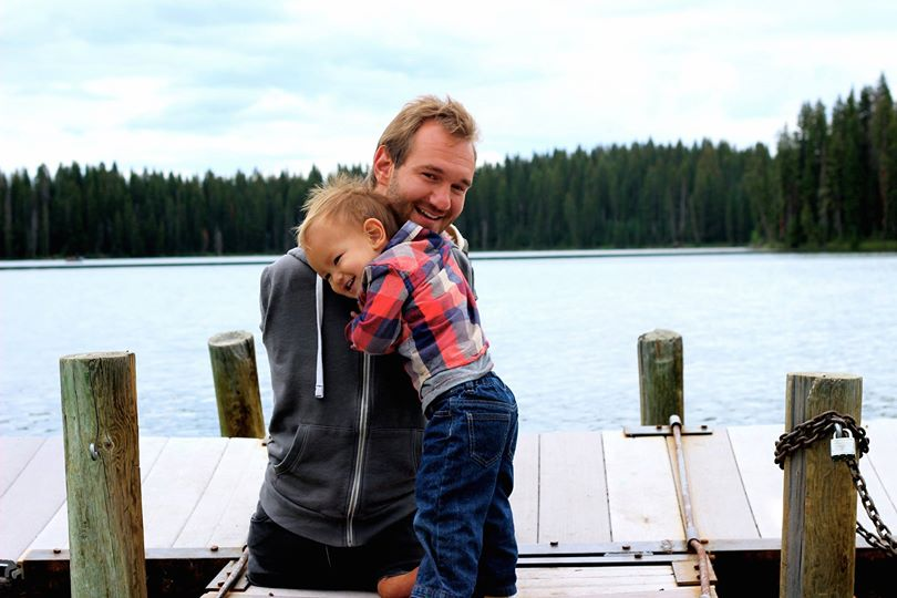 ad7967d1435e1 Motivational speaker Nick Vujicic does not worry about being a cool Dad