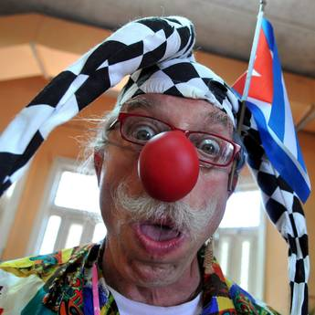 Patch Adams, Speaker