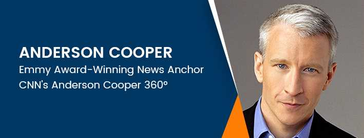 Anderson Cooper, Media and News Journalist Speaker