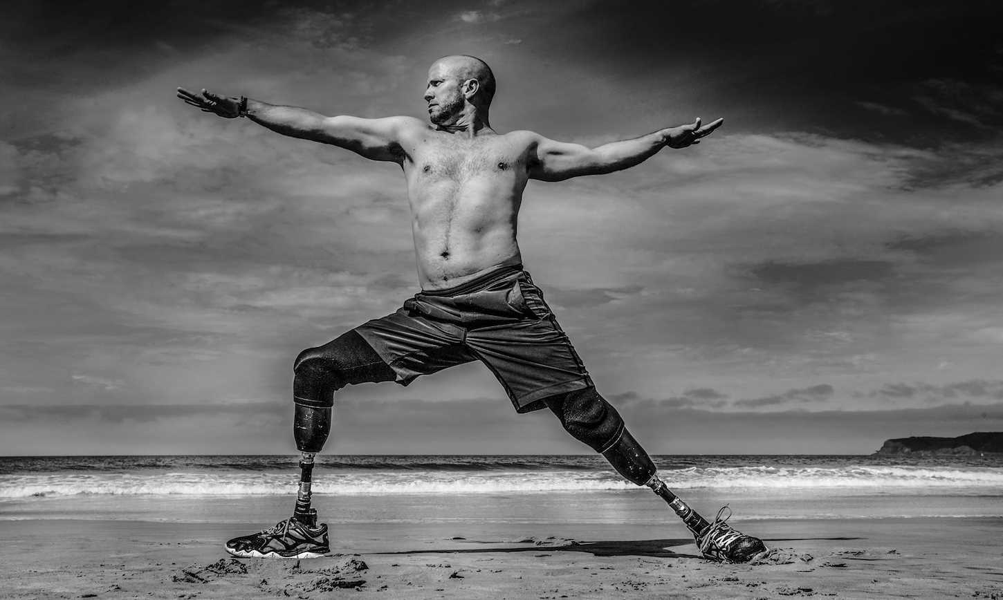 Double Amputee Veteran's Resilience Sparked By Yoga