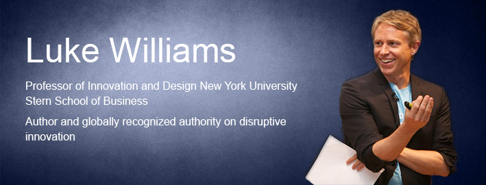 Luke Williams, Disruption Speaker, Executive Speakers Bureau